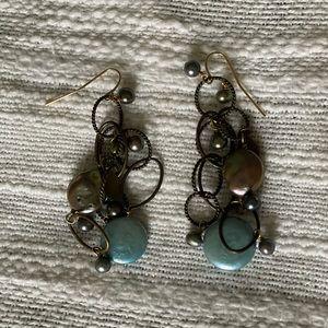 {Longaberger} So Rachel Drop earrings